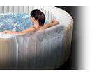 Intex bubbel jacuzzi 6 persoons 28408