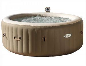 Intex bubbel jacuzzi 4 personen met energy efficient spa cover - 28474NL