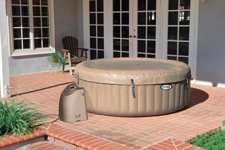 Intex bubbel jacuzzi 4 personen 28404