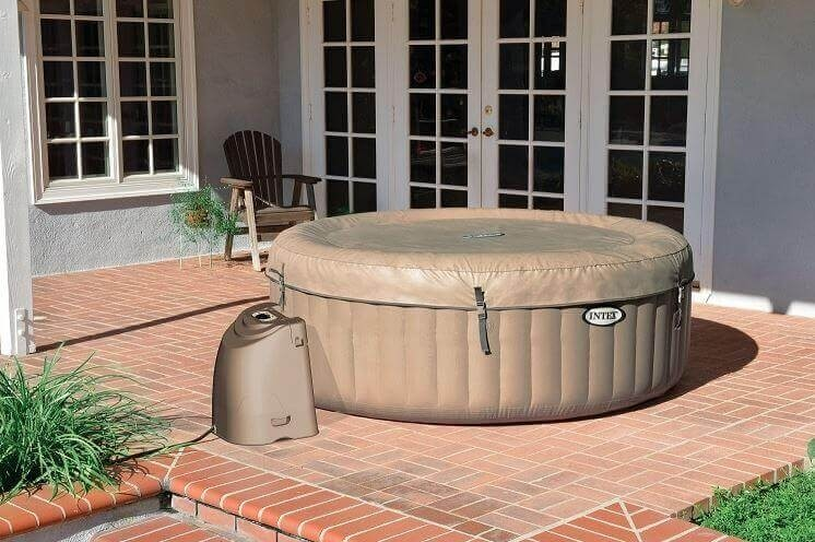 Intex bubbel jacuzzi 6 persoons 28408