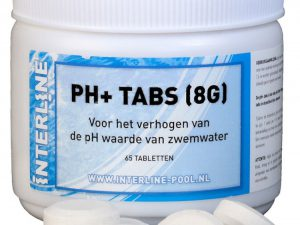 Interline pH-plus tabs 8gr 65 tabletten 52781322