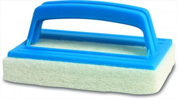 Zwembad schuurspons met handgreep K077CB