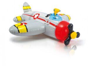 Intex opblaasbare propeller vliegtuig - 57537NP Grijs
