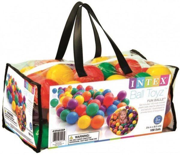 Intex speelballen klein - 49602NP