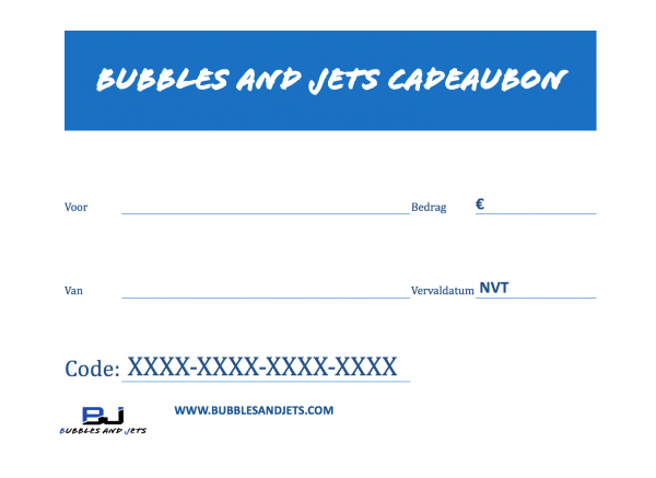 Bubbles and Jets Cadeaubon