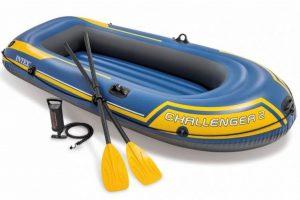 Intex challenger 2 set - Met peddels en pomp