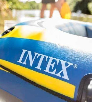 Intex challenger 3 Set - Met peddels en pomp
