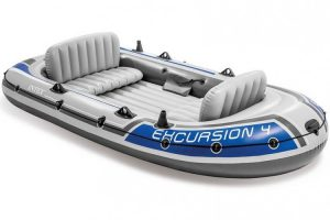 Intex excursion opblaasboot - vierpersoons