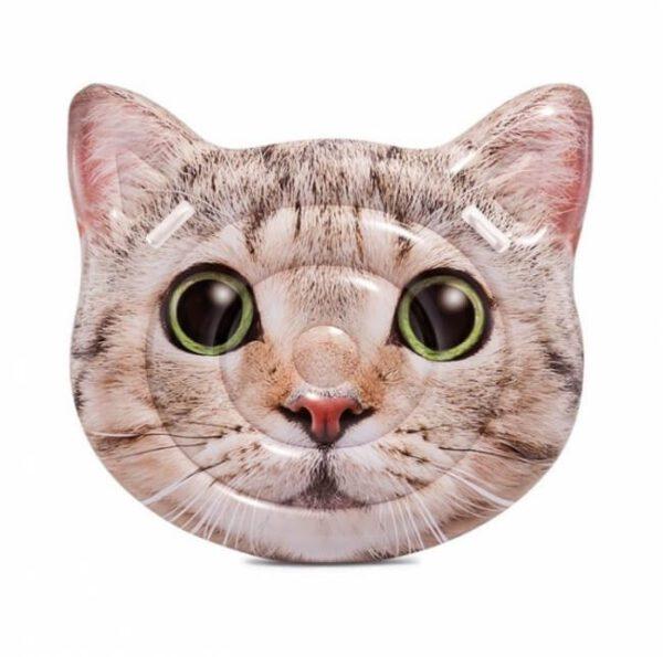 Cat face poezen luchtbed - 58784EU