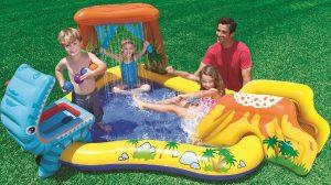Dinosaurus zwembad speelcentrum - 57444NP