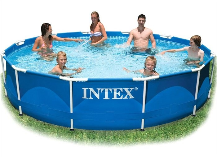 Intex Metal Frame Pool 366x76 - 28210NP