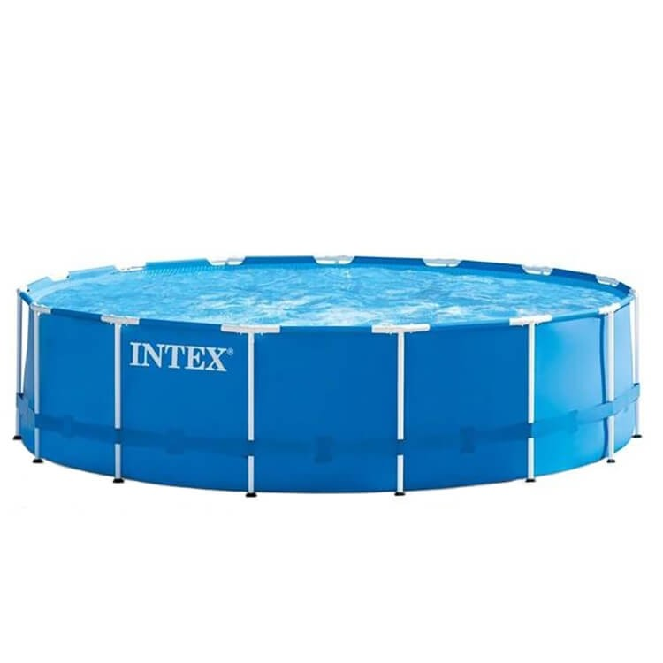 Intex Metal Frame Pool 457x84 incl. filterpomp - 28240GN