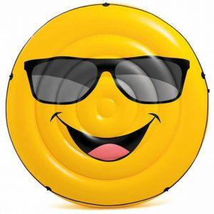 Mega smiley luchtbed - 57254EU