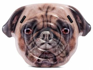 Mops hond luchtbed - 58785EU