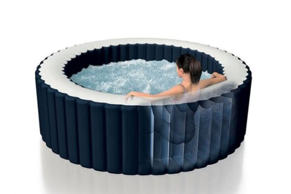 Intex opblaasbare bubbel spa navy 6-personen 28432NL