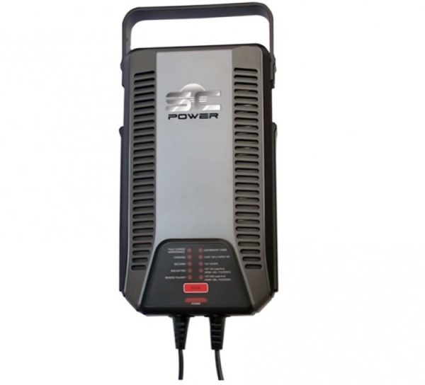 Acculader SC120 voor 75A en 100A accu
