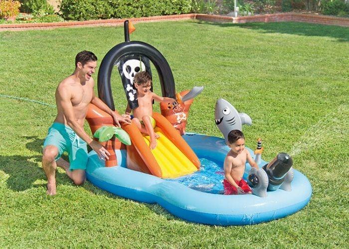 Intex Zwembad speelcentrum Piraat - 57168NP