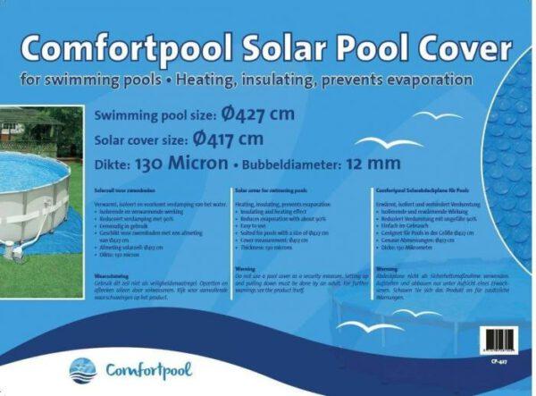 Comfortpool solarzeil Ø 427 cm
